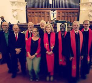 Installation Committee of Rev. Tega Swann