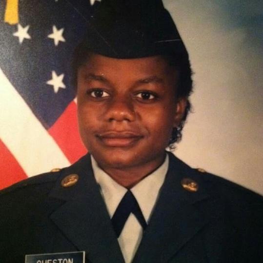 Renetta's military portrait